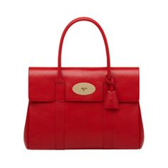 Bayswater in Bright Red Shiny Goat | Coming Soon | Mulberry