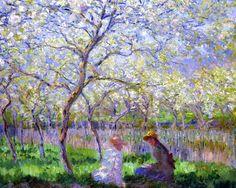 Claude Monet, Primavera (1886)