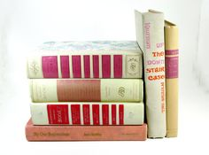 Instant Pink and Ivory Library  Reader's Digest by PlantsNStuff