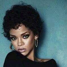Rihanna - Let's here it for your curls