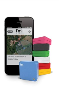 i'm Here is the most innovative and accurate GPS tracker the world has ever seen: a latest generation device able to locate anything or pinpoint your position upon demand or at regular intervals. It is so compact that you can take it everywhere and it can cover all your needs. Get your hands on it, available in seven different colors!