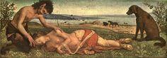 PIERO DI COSIMO: THE DEATH OF PROCRIS 1492