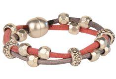 Round Euro Leather Bracelet Ideas