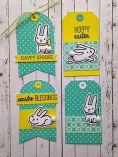 Amuse Studio Feb Collection - Somebunny Loves You stamp set with matching dies.