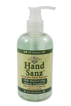 All Terrain Natural Hand Sanz with Aloe and Vitamin E >>> You can find more details by visiting the image link. (Note:Amazon affiliate link)