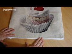 Come fare un CUSCINO con CERNIERA + SORPRESA - YouTube