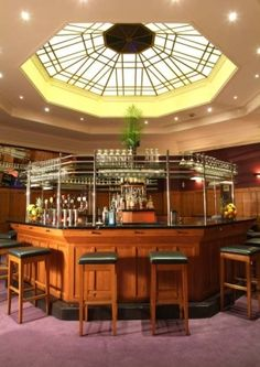 April 2006 - Dublin, Ireland - The Octagon Bar at the Clarence Hotel. A pretty great place to spend Good Friday with your fellow travelers.