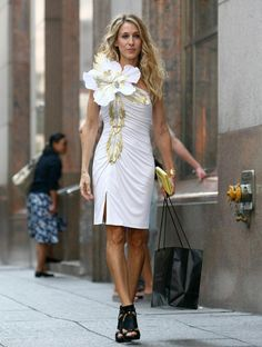 Sarah Jessica Parker caught with fashion faux pas - NY Daily News