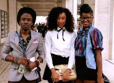 fusionkelvar: corinne bailey rae - New york fashion week Photography by Curran J. Corinne Bailey Rae, Cute Updo, Brown Girl, Black Is Beautiful, Cool Kids, Style Inspiration, Style Ideas, Natural Hair Styles, Fashion Outfits