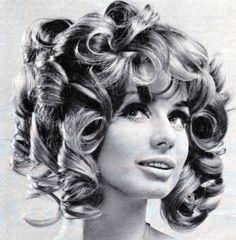 78343a2b3eb Vintage Hairstyles - Curls Curls Curls - from a Burda Moden Magazine