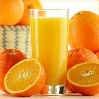 Orange Juice Serving Glasses
