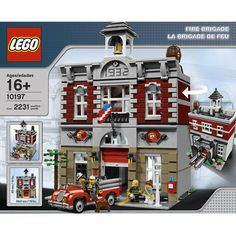 The Top Lego Toy Sets For 2013-LEGO Creator Fire Brigade 10197-Price $149.99 Build your own 1930s-style fire station with this fire brigade set from lego creator. With over 2000 pieces, this set will make the perfect addition to your Lego town. The two-story fire station includes a vintage fire truck, four mini-figures, a firehouse dog, an opening garage door and a removable roof rice... SEE MORE: http://www.everythingkids.co/the-top-lego-toy-sets-for-2013/