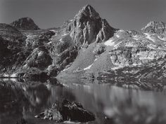 1932 Rae Lakes, Painted Lady, Kings Canyon National Park by Ansel Adams 84.91.37