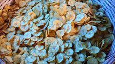 Making of Banana Chips at Kozhikode Banana Chips, Kerala, Food Videos, Stuffed Mushrooms, Snacks, Vegetables, How To Make, Tapas Food, Appetizers