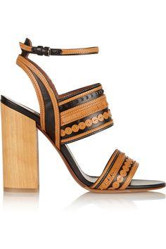 Tabitha Simmons|Shaewood leather sandals|NET-A-PORTER.COM
