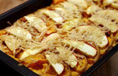 Culy Homemade: pompoenlasagne met appeltjes, amandelen & Parmezaanse kaas- sounds delicious