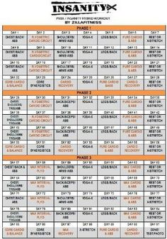 insanity p90x hybrid calendar bring it and dig deep with the p90x insanity hybrid schedule