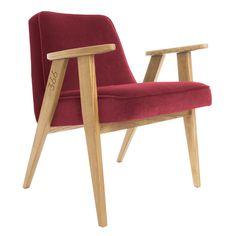 366 VELVET Petit fauteuil by 366 Concept s.c. design Józef Chierowski