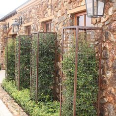 Gabions don't have to be filled with rocks