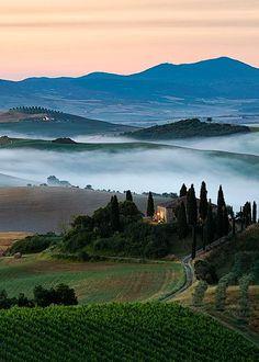 "coiour-my-world: ""Tuscan Dreams - Italy | Elia Locardi """