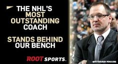 Yes he does! Go Pens!