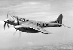 de Havilland DH.103 Hornet / Sea Hornet - Twin-Engine Long Range ...