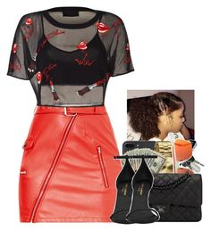 """Untitled #2211"" by txoni ❤ liked on Polyvore featuring Nixon, Gentle Monster, Chanel and Yves Saint Laurent"