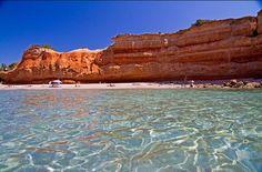 Sa Caleta playa, south of Ibiza #ibizaplayas #SaCaleta #Spain