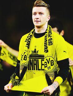 Marco Reus vive un momento increíble. El mejor jugador Alemán del momento.
