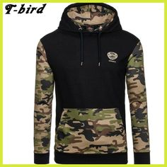 9c59966f5bc Hoodies Men 2017 Brand Male Long Sleeve Hoodie Camouflage Splicing  Sweatshirt Mens Moletom Masculino Hoodies Slim