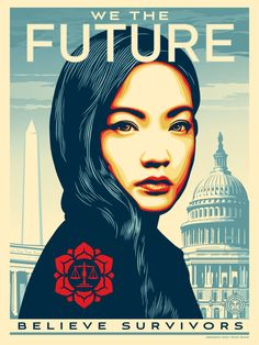 A gallery of fashion images from Obey Shepard Fairey AKA Obey is an American street artist known for his iconic character Obey the Giant, and his poster for Obama His art is often a pastiche of propaganda posters. Political Posters, Political Art, Protest Posters, Shepard Fairey Art, Protest Art, Old Adage, Street Artists, Art Plastique, Barack Obama