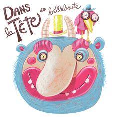 BELLEBRUTE - autopromotion / self-promotion by Atelier Tricorne, via Behance