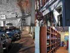 Our fab neighbors, and after-work meet-up spot, Grape + Bean ~ Old Town Alexandria