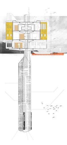 Arquitectura Flotante: Sistema de prefabricación en ferrocemento para zonas extremas // Benjamín Lezaeta