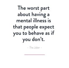 Mental Health Slogans, Mental Health Facts, Mental Health Stigma, Mental Health Journal, Mental And Emotional Health, What Is Mental Illness, Mental Illness Awareness, Mental Health Awareness Month, Babe Quotes