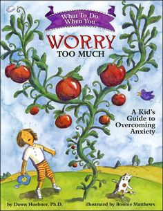 Anxiety book for 6 - 12 yr olds Recommended must buy influx of children this summer for counseling..
