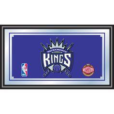 Trademark Commerce NBA1500-SK Sacramento Kings NBA Framed Logo Mirror