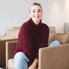 16 Precious autumn collection | Camilla Pihl Strikk Camilla, Bordeaux, Tiffany, Turtle Neck, Autumn, Knitting, Sweaters, Diy, Collection
