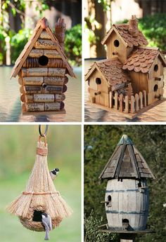 Bird Boxes, My Secret Garden, Squirrel, Cube, Birds, Outdoor Decor, Design, Home Decor, Diy Crafts