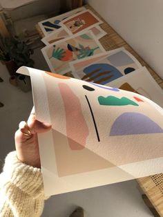 Art abstract Art print illustration by Carla Llanos Art print, digital illustration print, illustration Illustration Design Graphique, Illustration Art, Illustrator, Poster Design, Aesthetic Drawing, Art Inspo, Art Drawings, Art Photography, Art Prints
