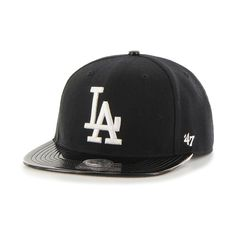 Los Angeles Dodgers Shinedown Captain Snapback Adjustable Cap by  47 ( 28)  ❤ liked on Polyvore featuring accessories d5c9c0e363fa