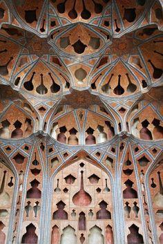 iseo58: Ali Qapu, Music room, Isfahan, Iran