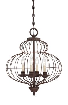 Quoizel Laila 4 Light Chandelier | AllModern....want just one lightbulb in there though