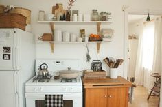 Earthy Bohemian Kitchens....