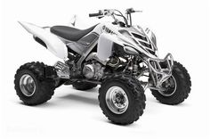 White 2011 Limited Edition Raptor 700 * I will own this one day  c: