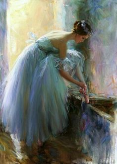 This is a subtle truth. Whatever you love, you are. -Rumi  *Last Preparations by Constantine Lvovich