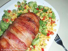 Recept - Baconlindad Köttfärslimpa