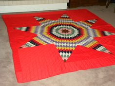 An absolute amazing quilt made for a special someone.