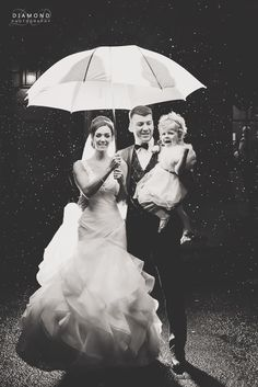 Vicky & Gary's wedding Crathorne Hall - Rain can be good :)