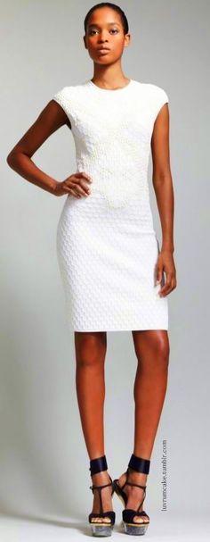 white cap sleeve dress